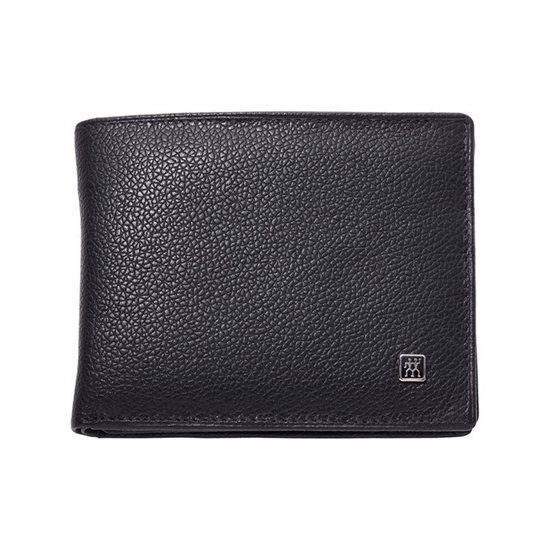 Set portofel, barbati din piele neagra - Zwilling TWINOX