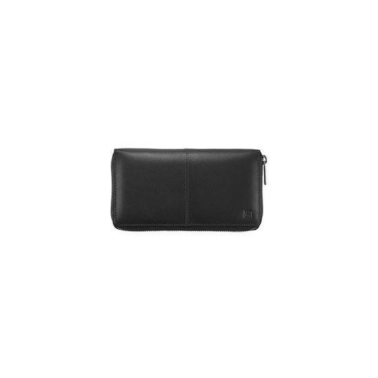 Set portofel, dama din piele neagra - Zwilling TWINOX