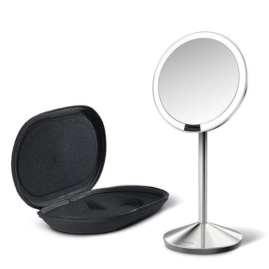 Oglinda cosmetica cu senzor, 550 lux, 11,5 cm - simplehuman