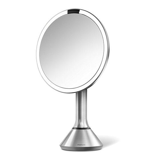 Oglinda cosmetica cu senzor, 600 lux, 23 cm - SimpleHuman