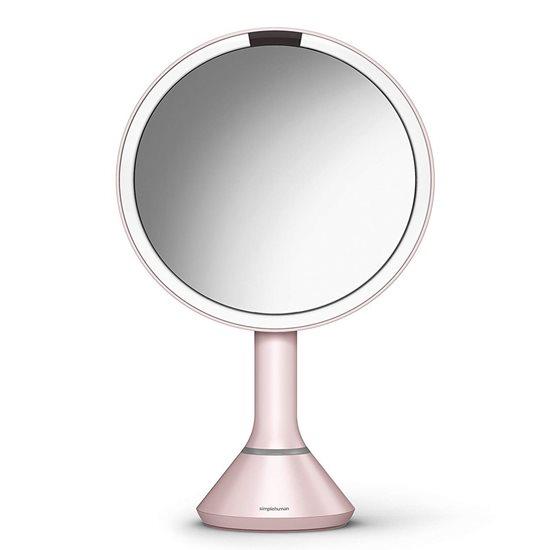 Oglinda cosmetica cu senzor, 23 cm, Pink - simplehuman