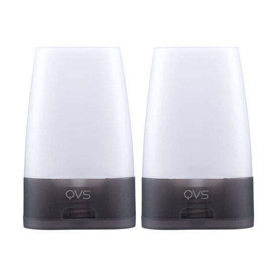 Set 2 sticlute de voiaj pt cosmetice 50 ml - QVS