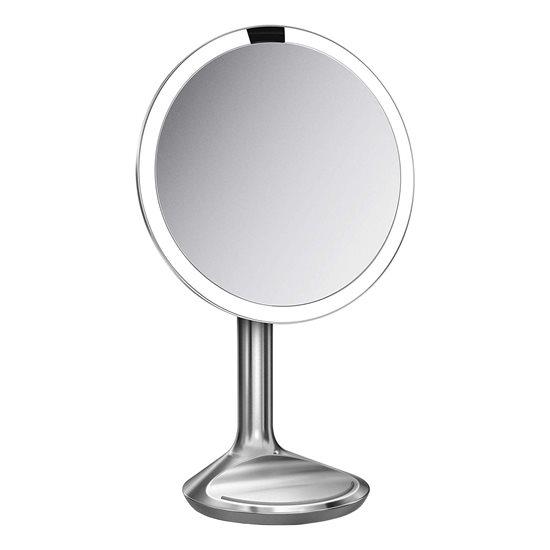 Oglinda cosmetica cu senzor, 20 cm - simplehuman